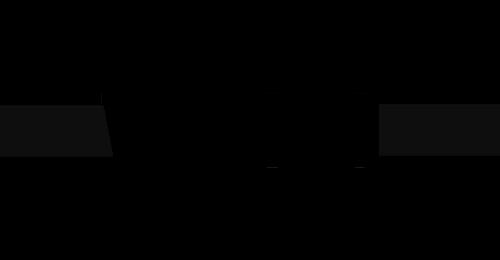 Mustavalkoinen Vamsko logo