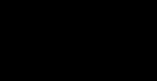 Mustavalkoinen H&M logo