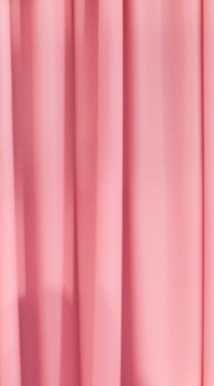 vaaleanpunainen verho