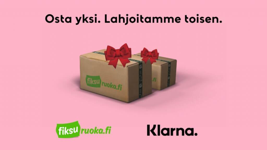 Fiksuruoka.fi + Klarna