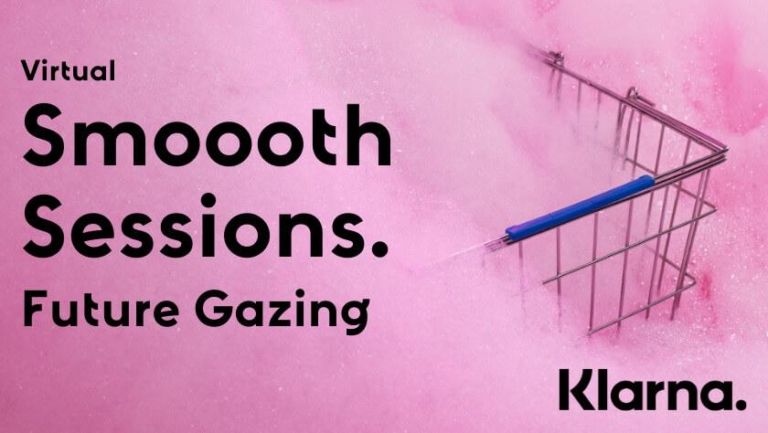 Virtuaali smoooth session mainos - ostoskori pinkissä vaahdossa